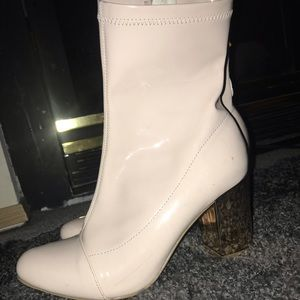Fashion Nova Booties 8.5